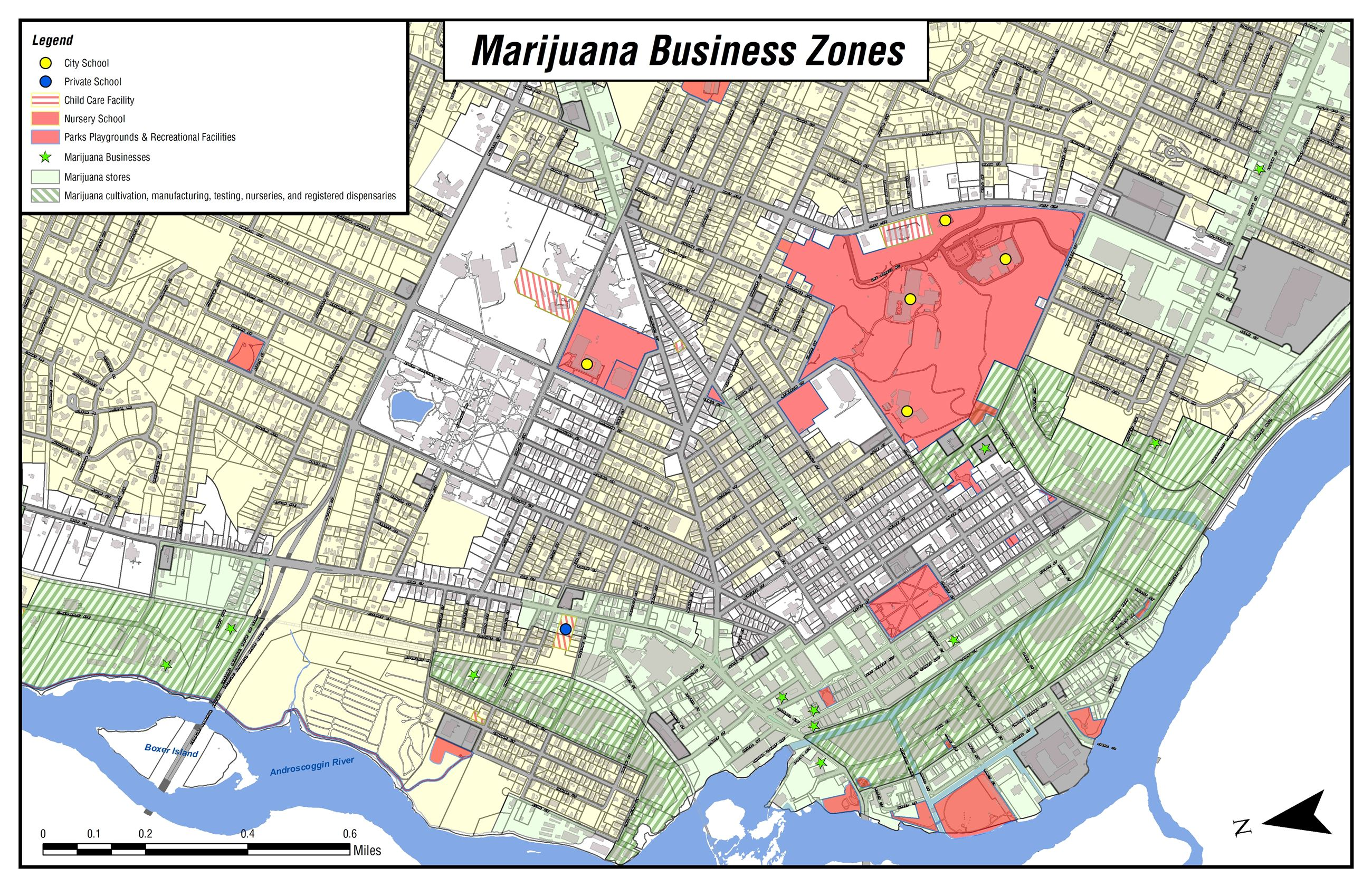 Marijuana Zones Downtown