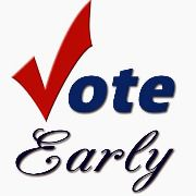 VOTE EARLY CLIPART