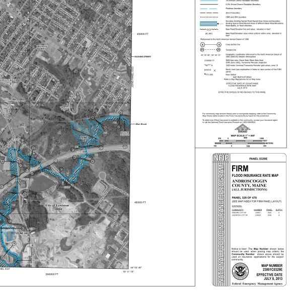 map of flood zone