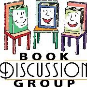 book discussion graphic