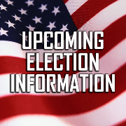 upcoming election info